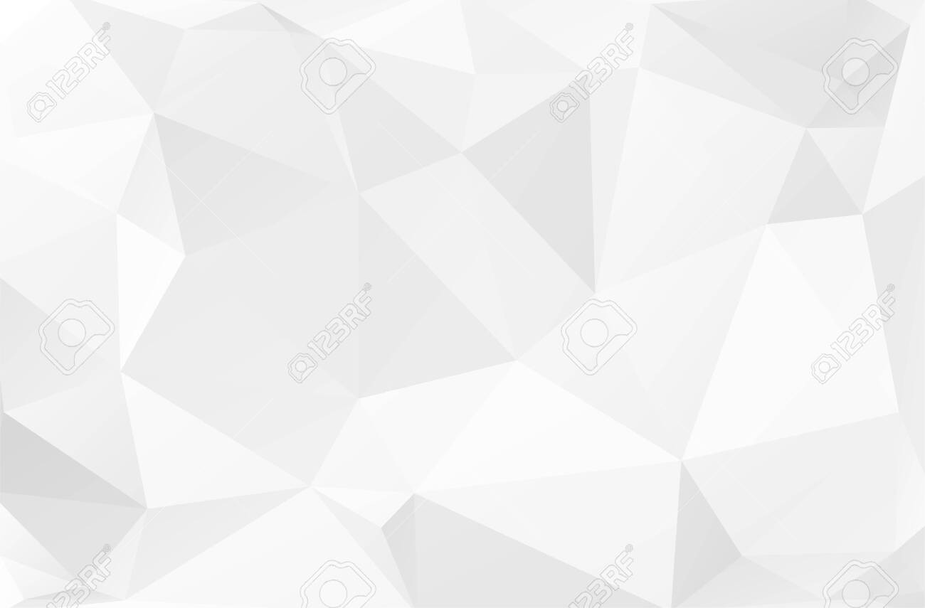 Abstract geometric background with white shapes - 147056163