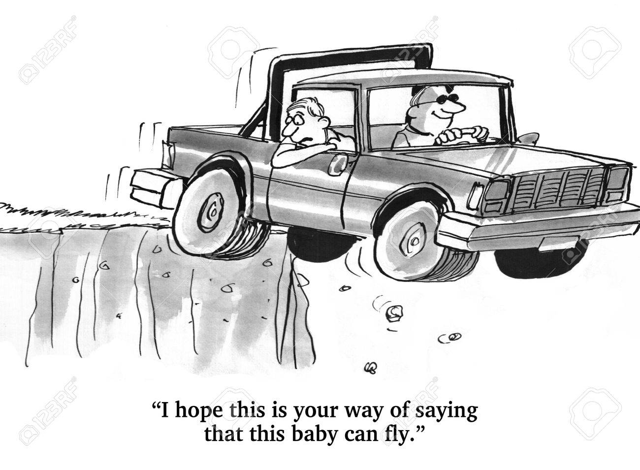 Hope This Truck Can Fly - 51004414