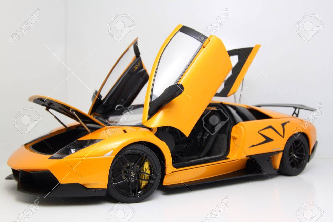 Lamborghini Murcielago Sv Edition Diecast Car Stock Photo Picture
