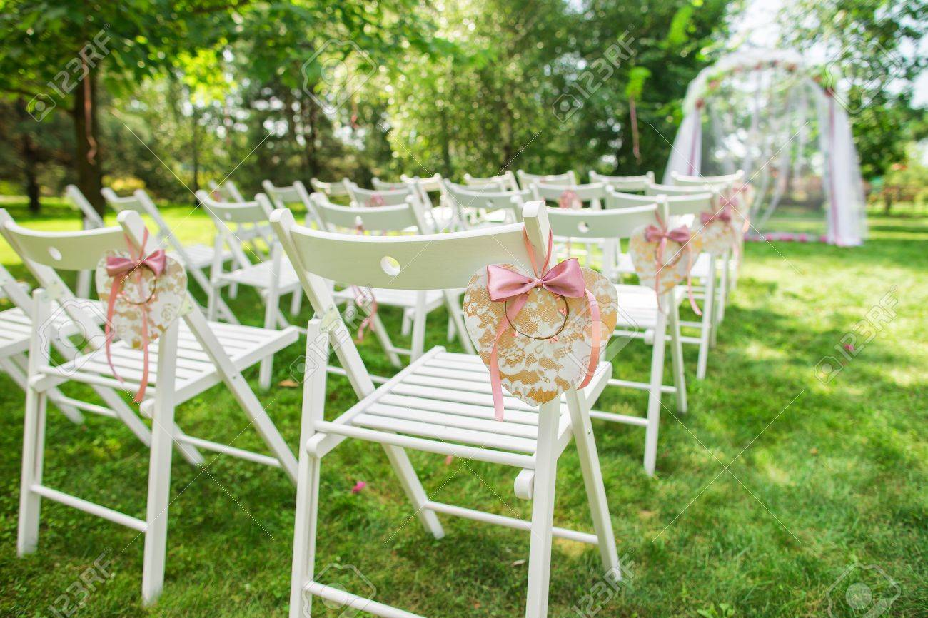 Beautiful Place For Outside Wedding Ceremony In City Park Many Stock Photo Picture And Royalty Free Image Image 65506759