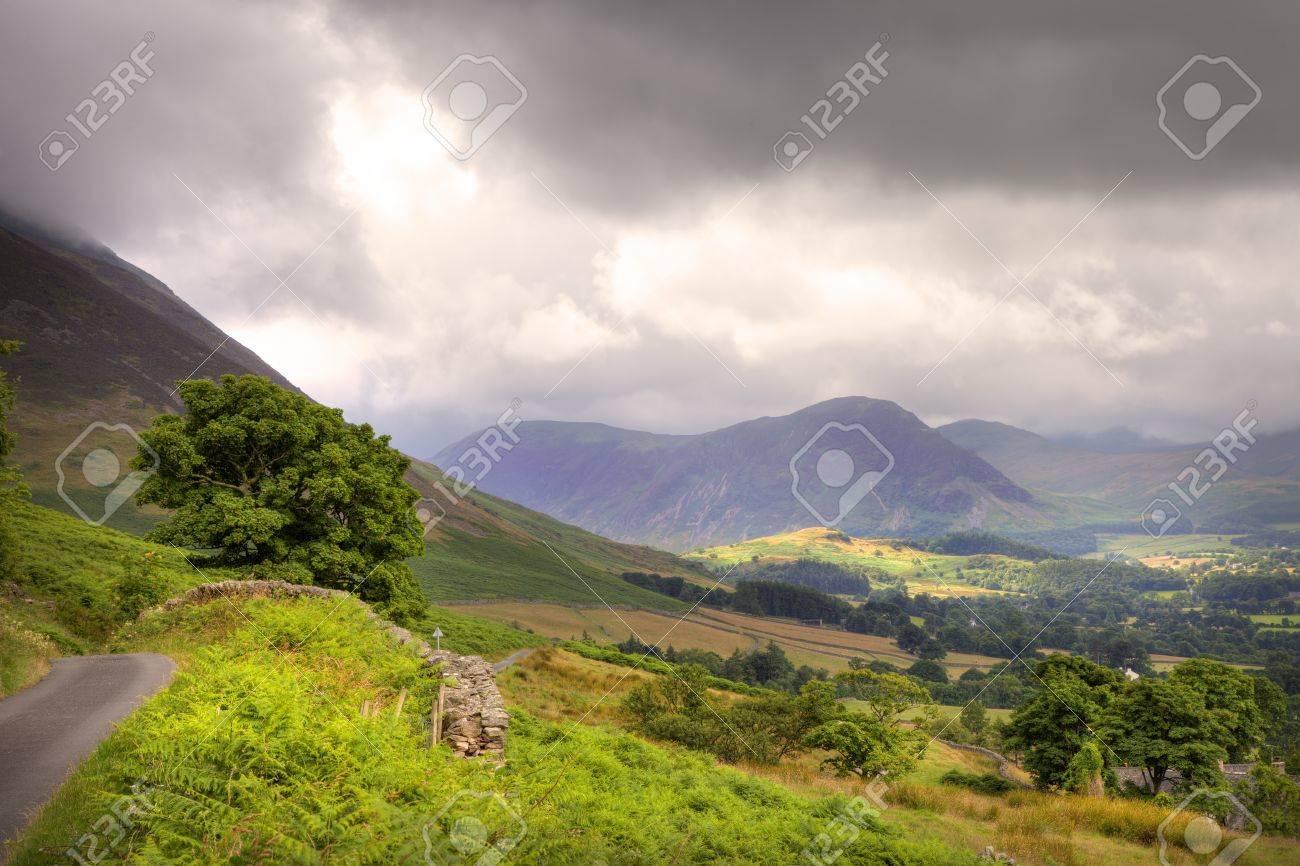 Swinside near Hopebeck, the Lake District National Park, Cumbria, England Stock Photo - 24517824
