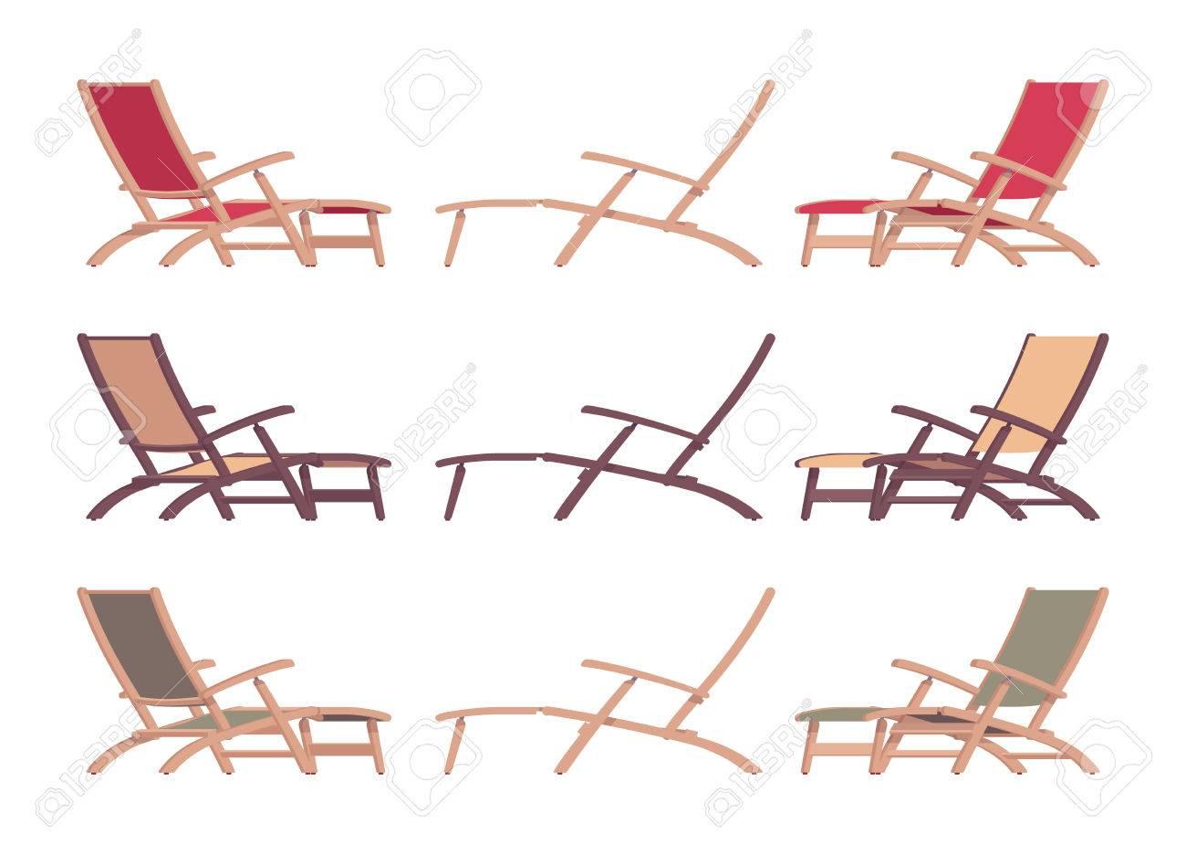 Ensemble chaise longue, canapé long, chaise pliante confortable pour piscine extérieure, plage de sable ou terrasse pour profiter du soleil d'été et