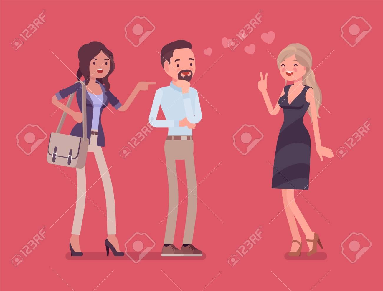 Girlfriend feeling jealous - 100539564
