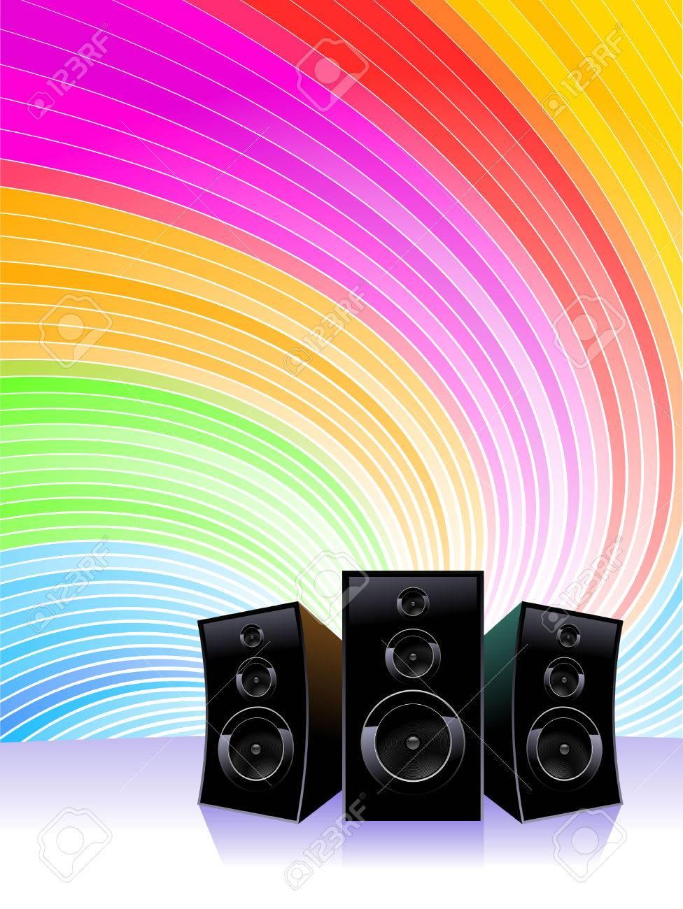 Music shine Stock Vector - 5196502