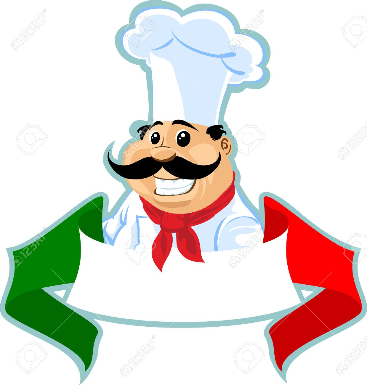 11 811 italian chef cliparts stock vector and royalty free italian rh 123rf com italian chef clipart free Italian Chef Hat