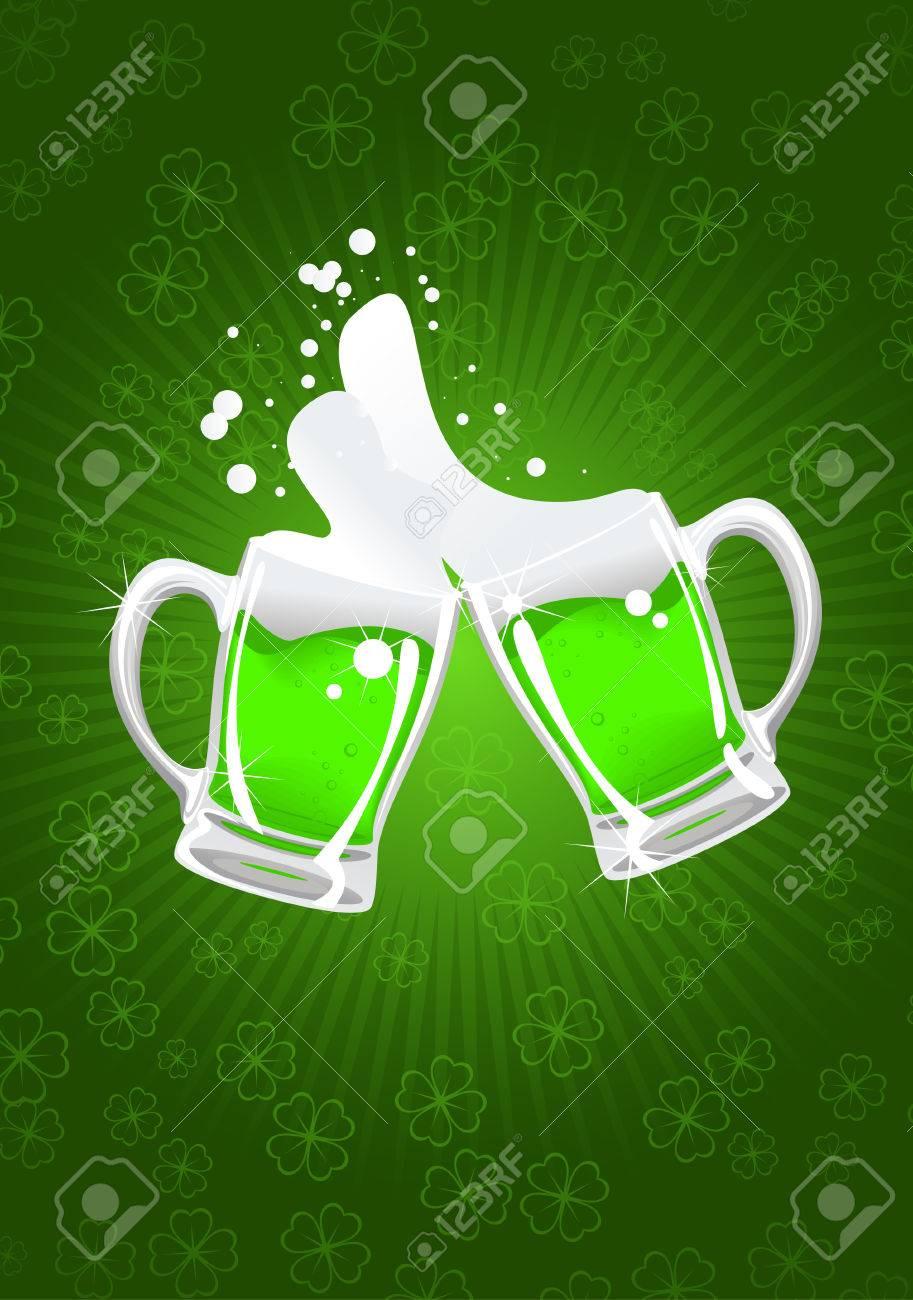st. patrick's beer Stock Vector - 6606116