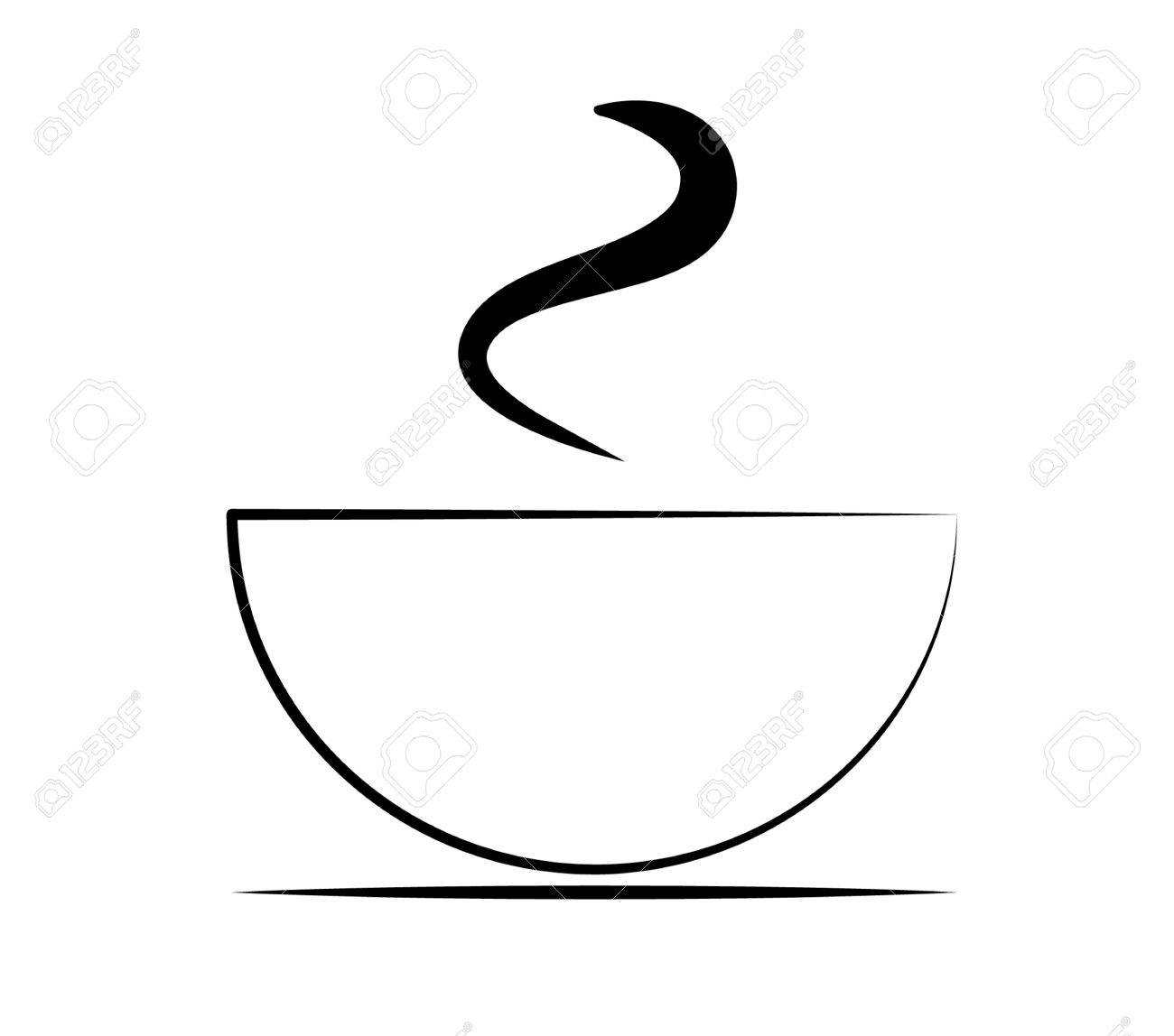 Coffee Cup Silhouette Vector