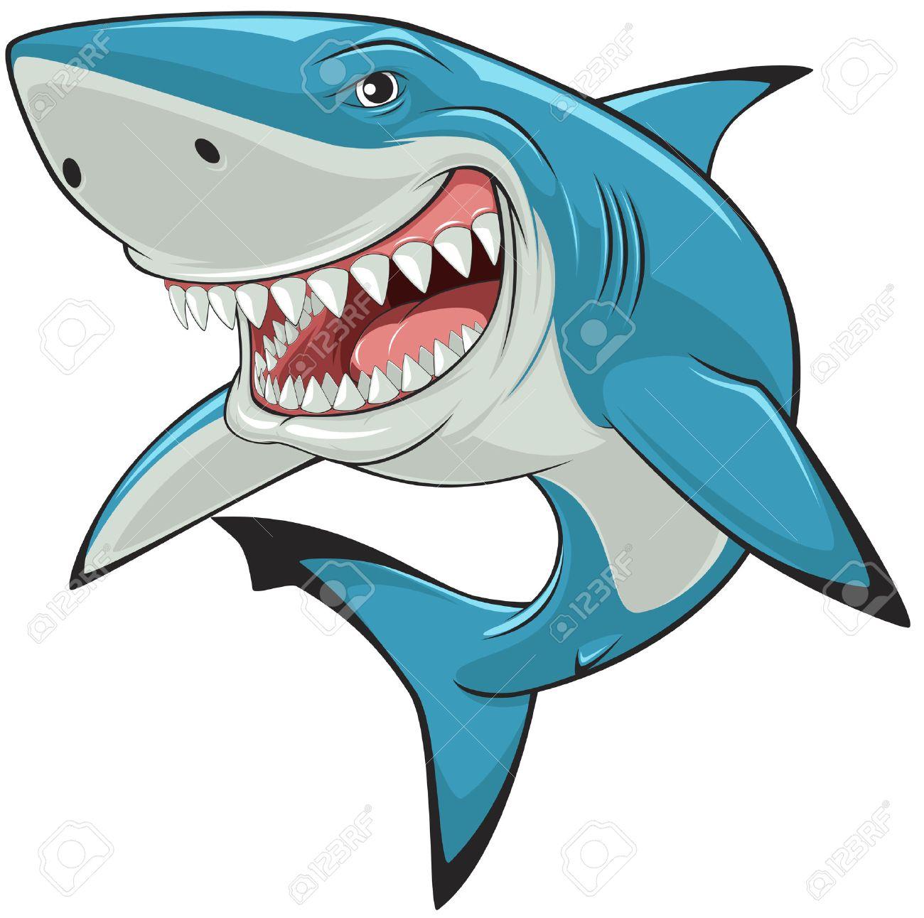 7 690 cartoon shark cliparts stock vector and royalty free cartoon rh 123rf com cartoon shark clipart free shark fin clipart free