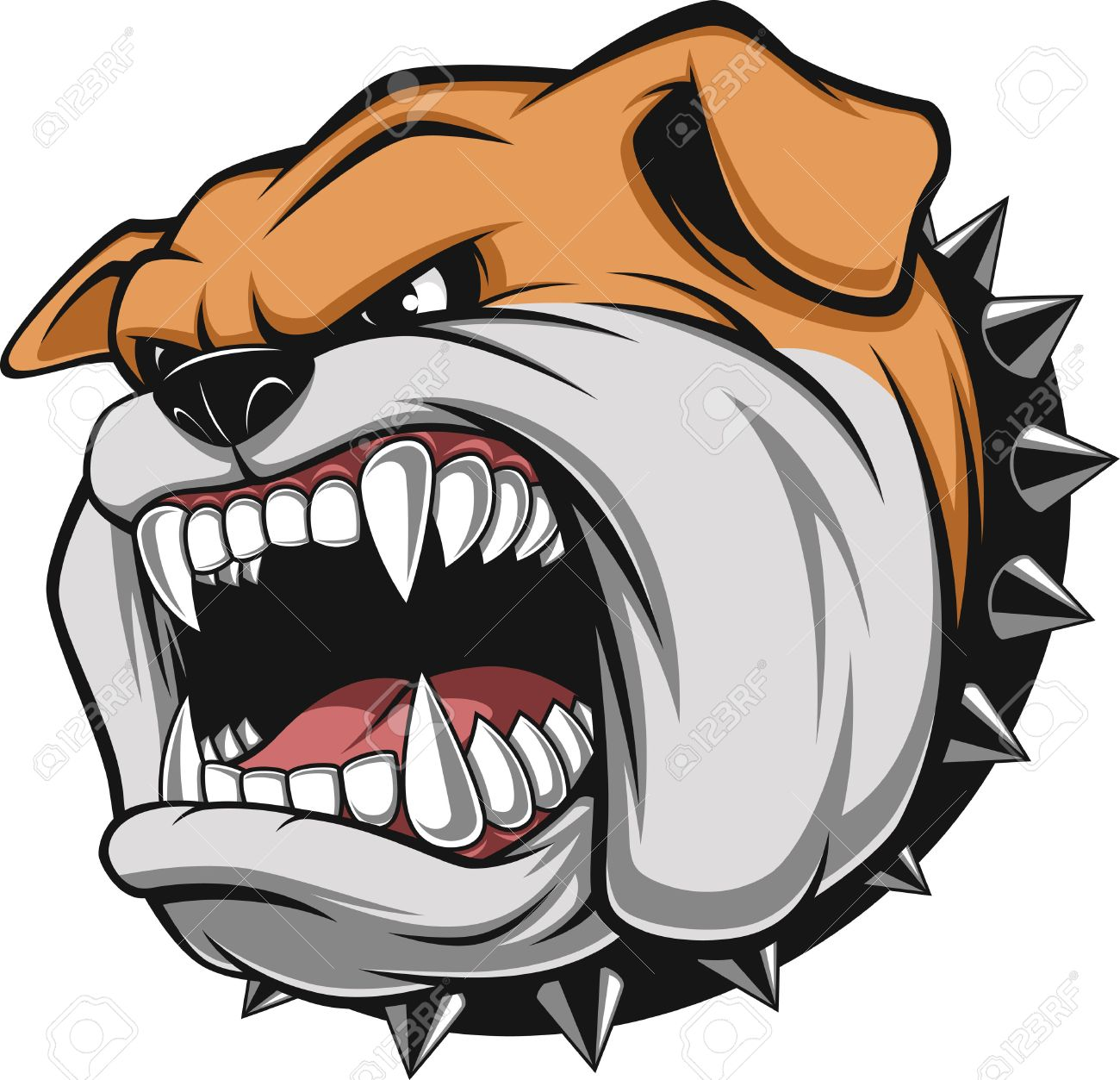 12073 Bulldog Stock Vector Illustration And Royalty Free Bulldog
