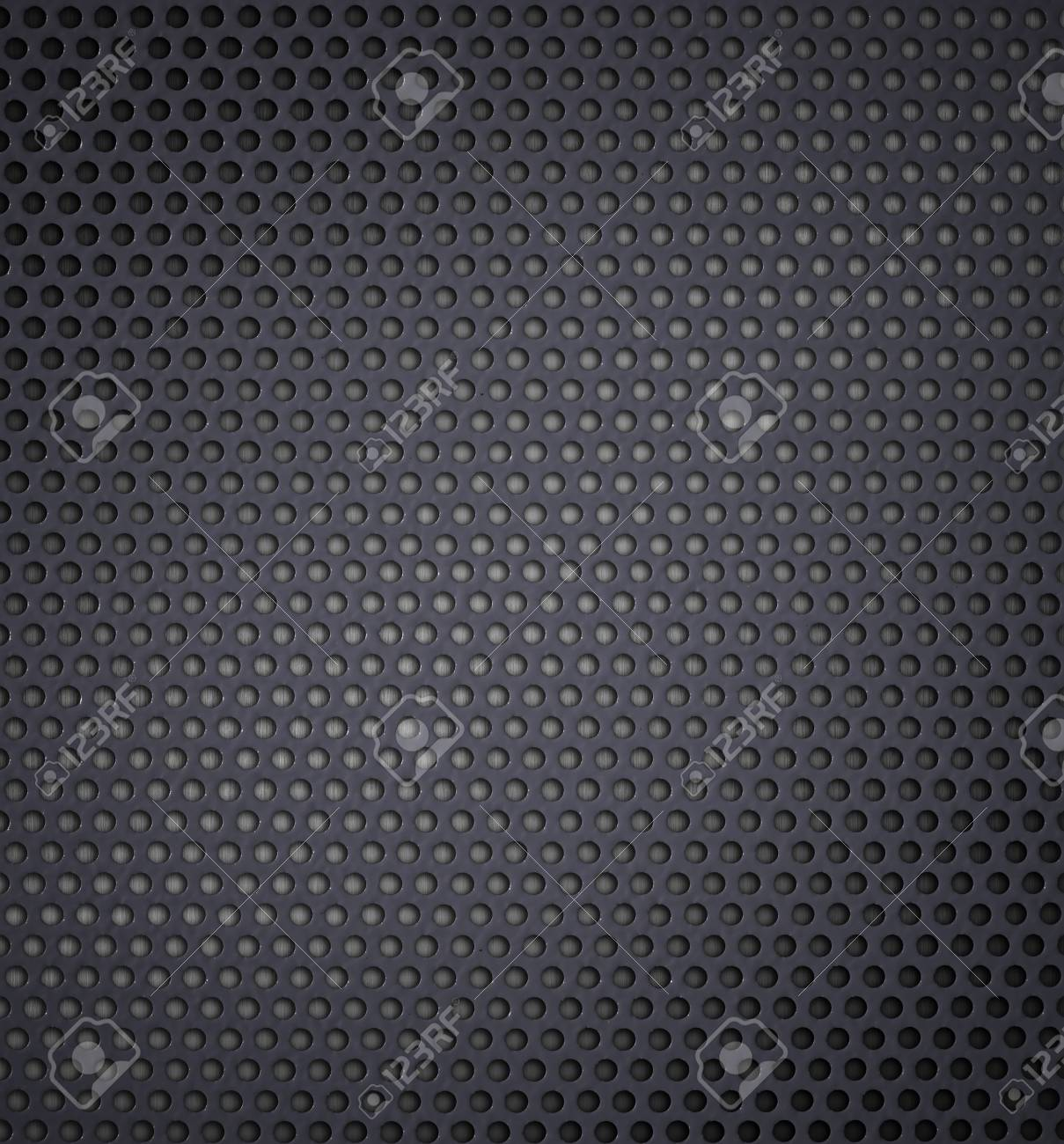 metal holed or perforated grid background Stock Photo - 7975713