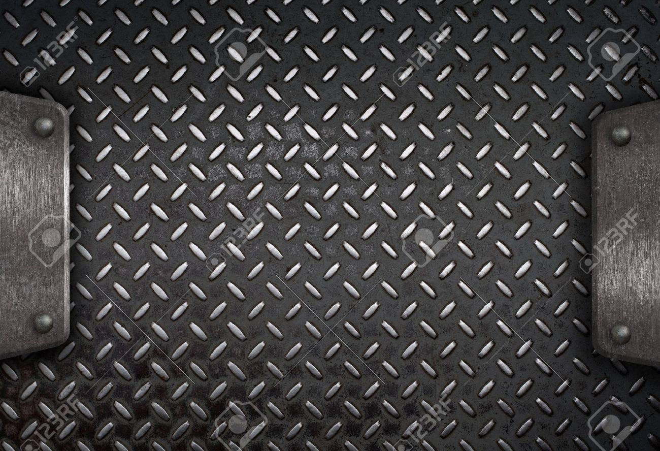 Black Grunge Metal Background grunge diamond metal