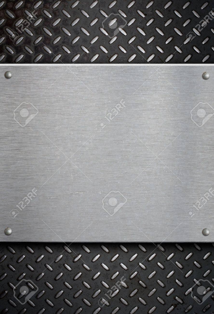 metal plate template Stock Photo - 9470118