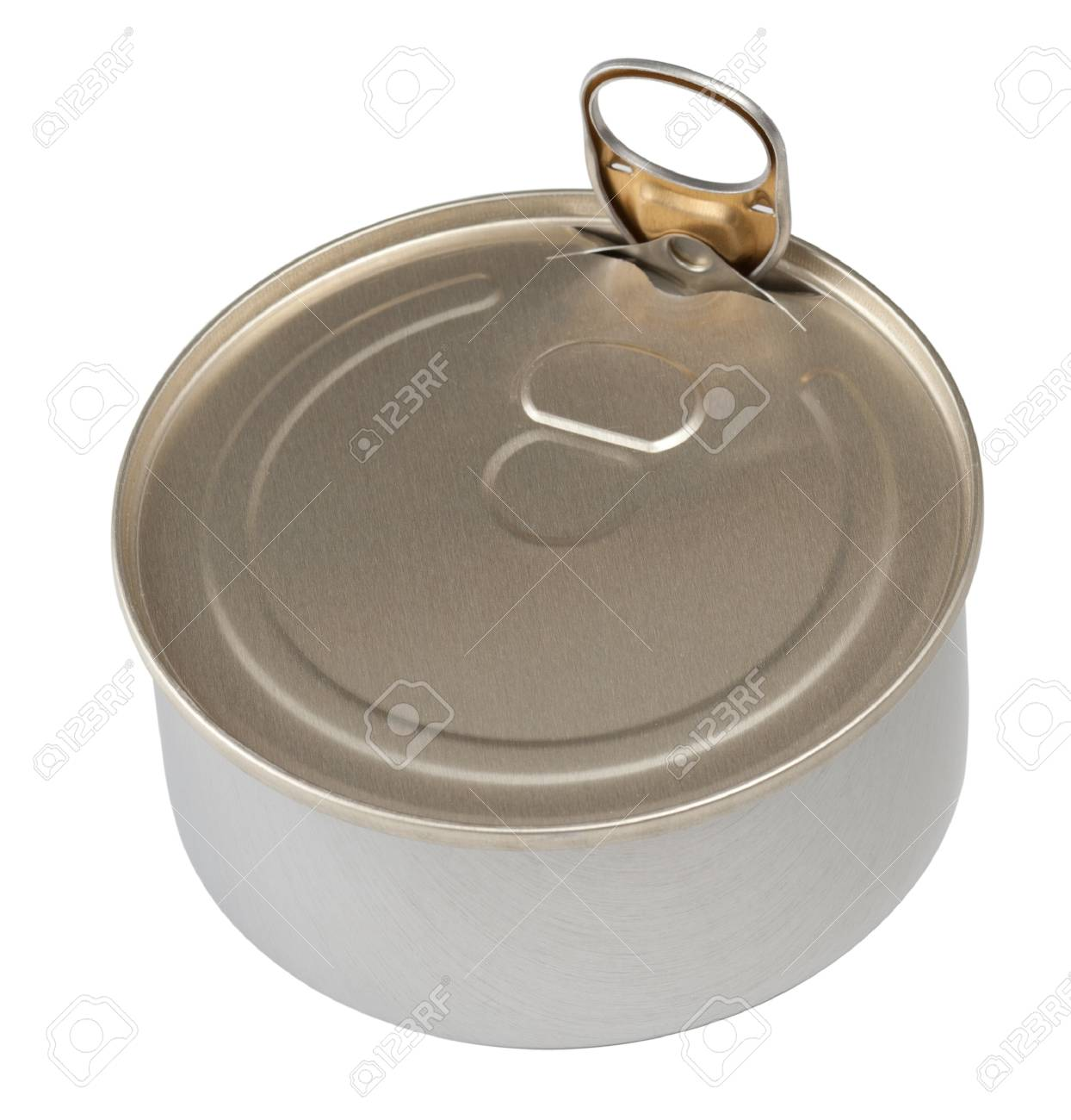 Food tin can isolated Stock Photo - 9892520