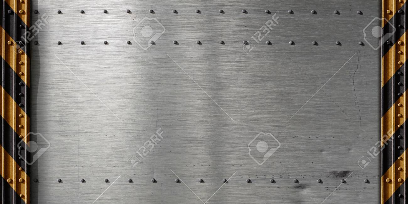metal template background Stock Photo - 9892535