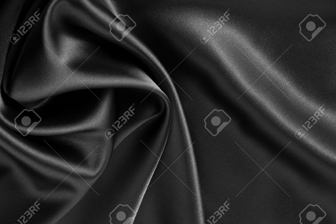 black satin or silk background Stock Photo - 10833341