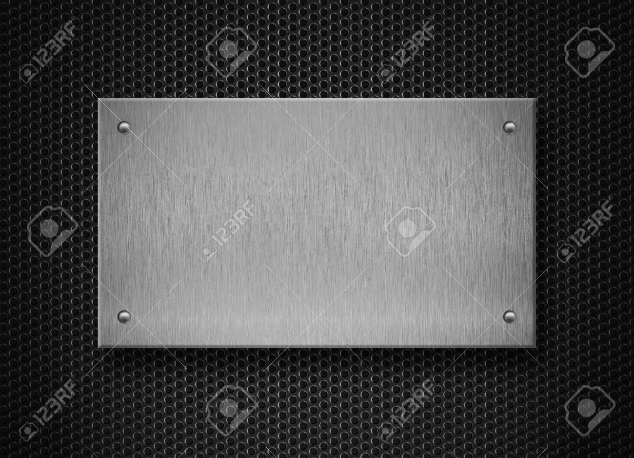 metal plate industrial background Stock Photo - 11561247