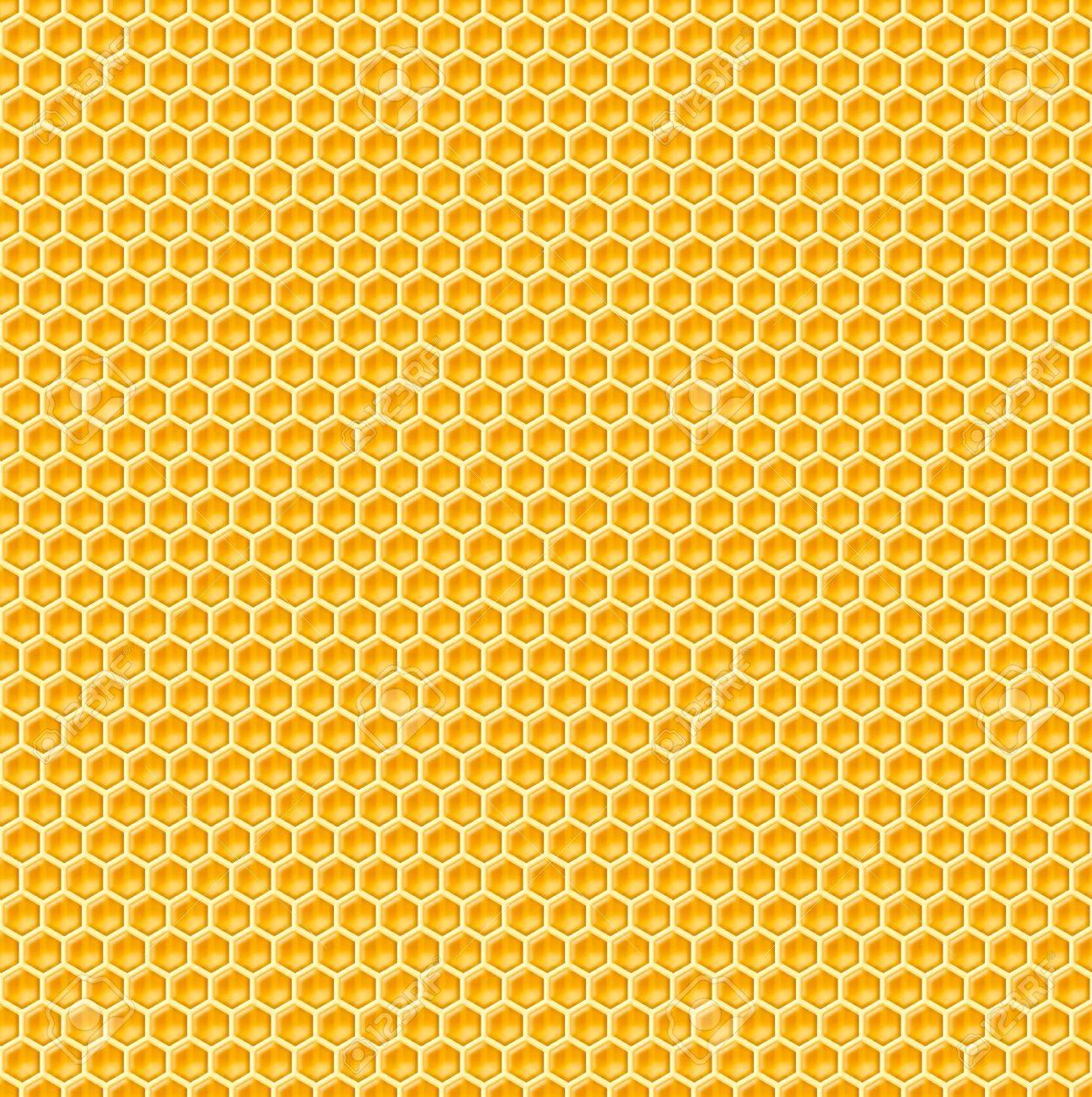 honeycomb seamless background Stock Photo - 15885625