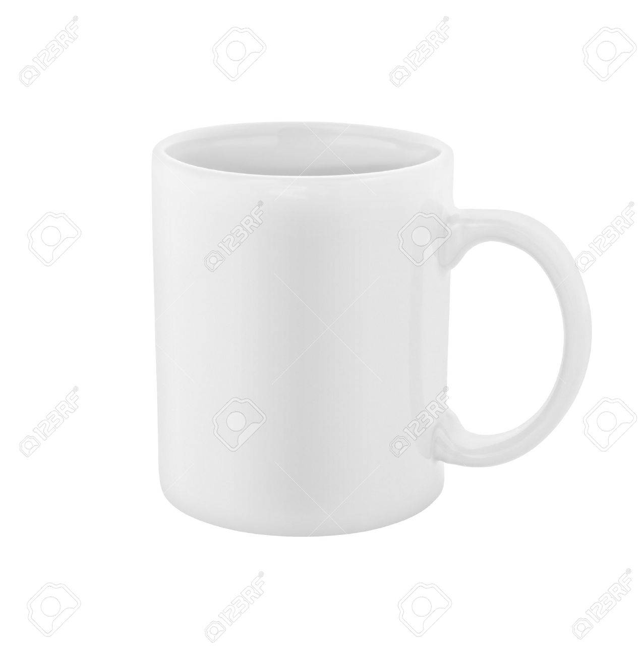 white coffee cup isolated Stock Photo - 16248931