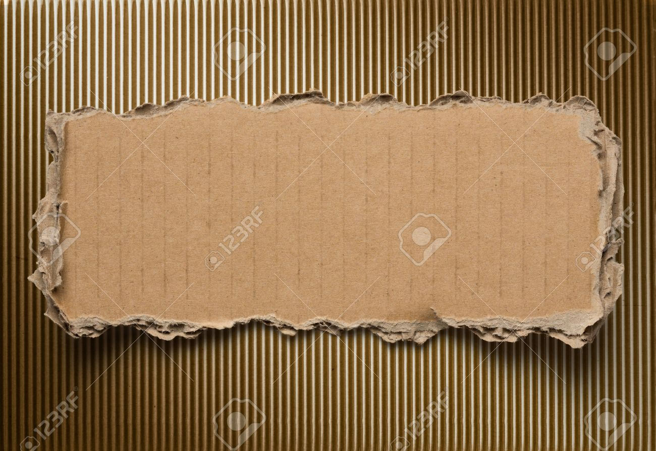 Torn cardboard background Stock Photo - 22861157