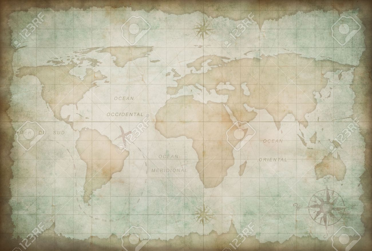 Old world map background stock photo picture and royalty free image old world map background stock photo 24963105 gumiabroncs Gallery