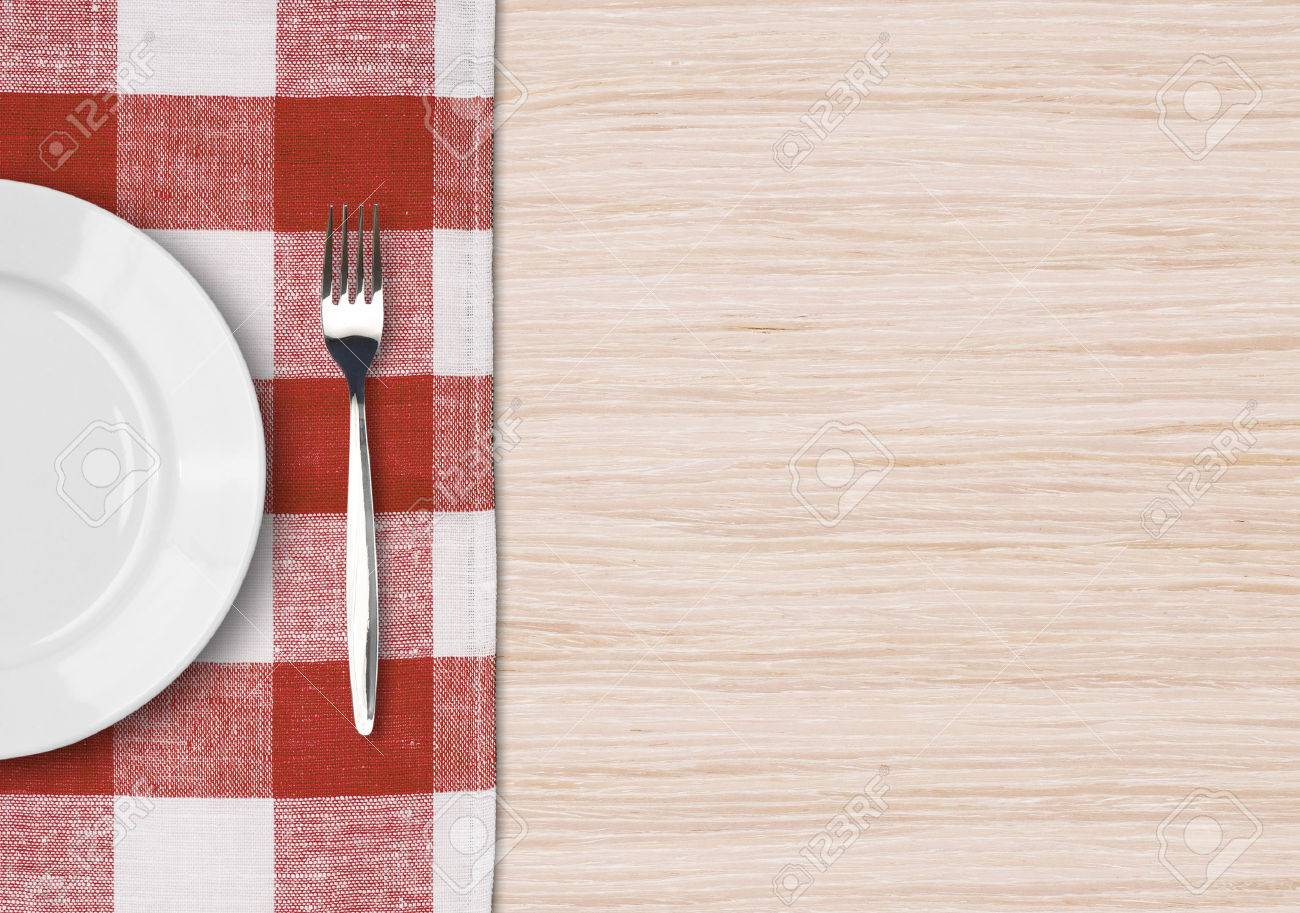 Dinner table top view - Dinner Table Setting Top View Dinning Concept Stock Photo 26963412