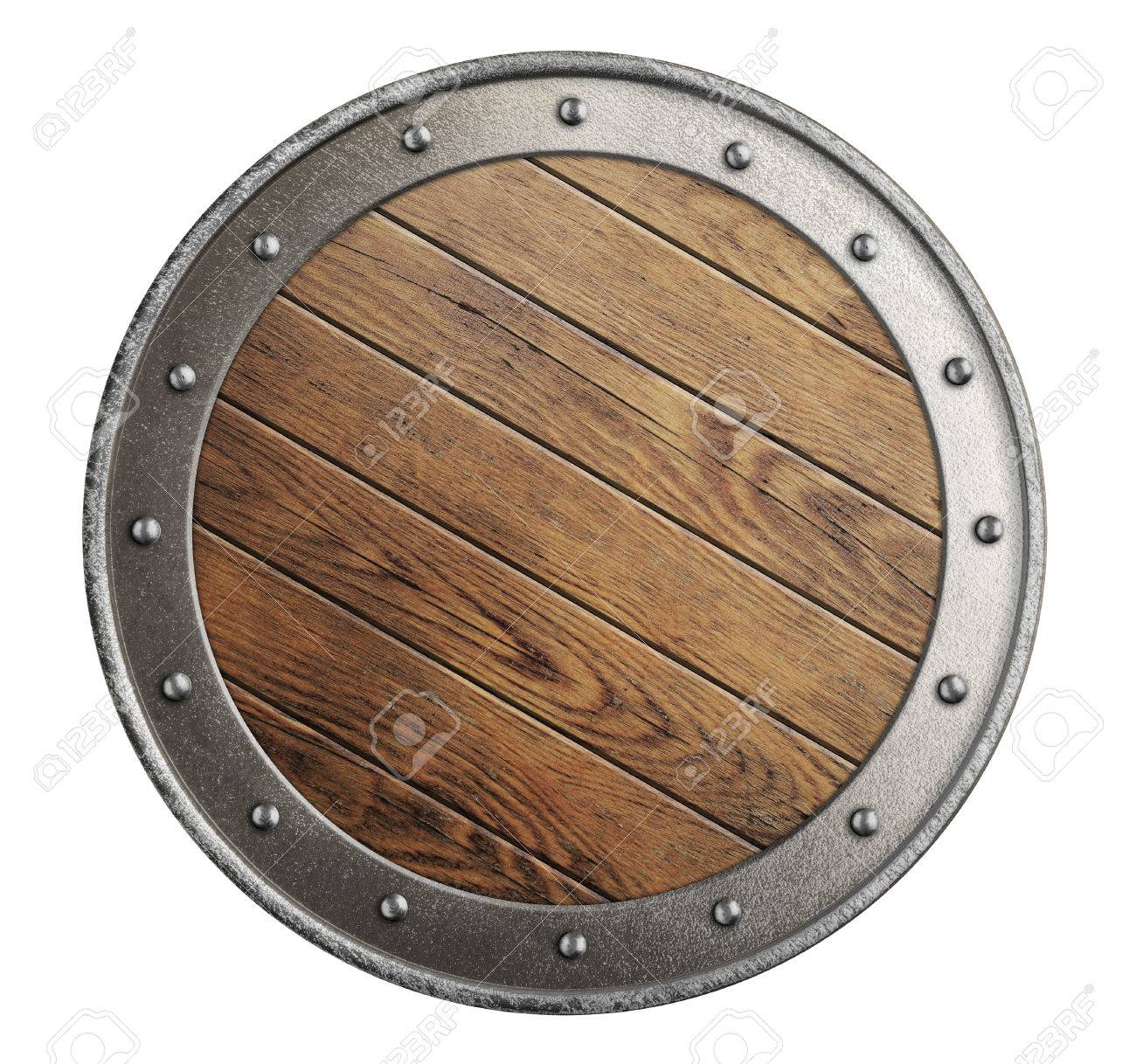 Wooden Viking Shield