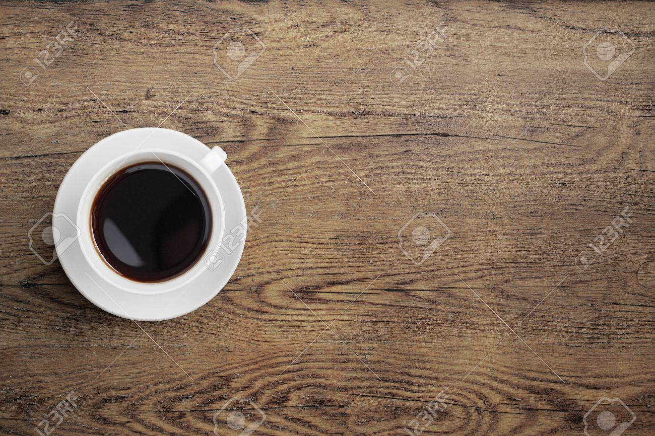 Black coffee cup on old wooden table stock photo picture and black coffee cup on old wooden table stock photo 32694083 geotapseo Gallery