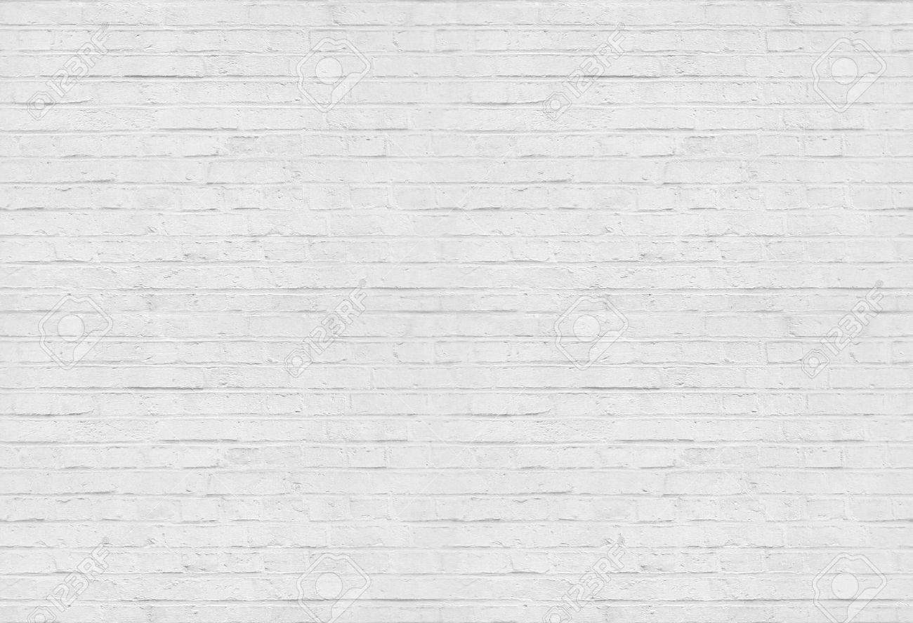 Seamless white brick wall pattern background - 41021072