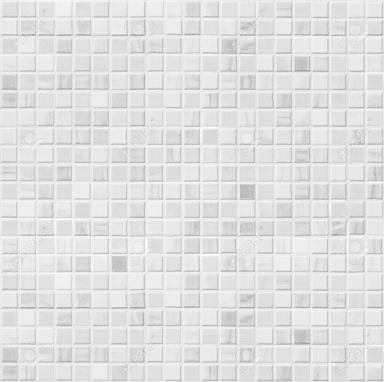 White Ceramic Bathroom Wall Tile Seamless Pattern For Background