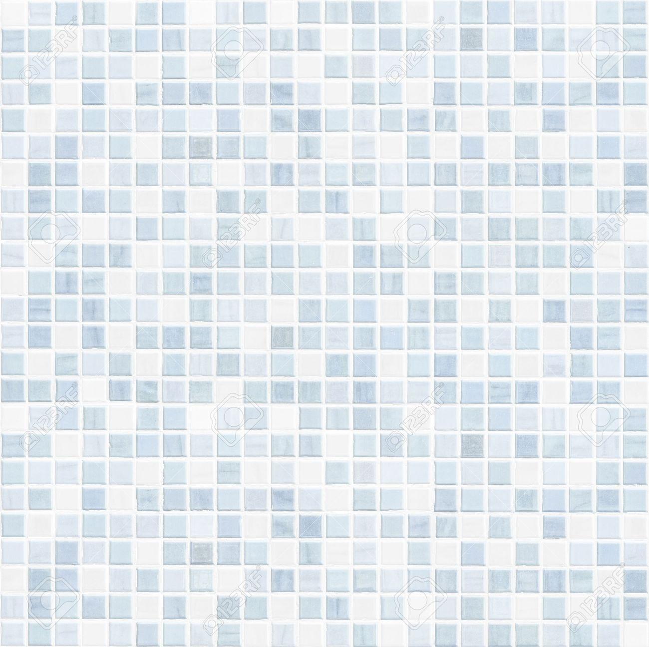 Blaue Fliese Wand Hochauflösende Fliesen Badezimmer Wand Lizenzfreie ...