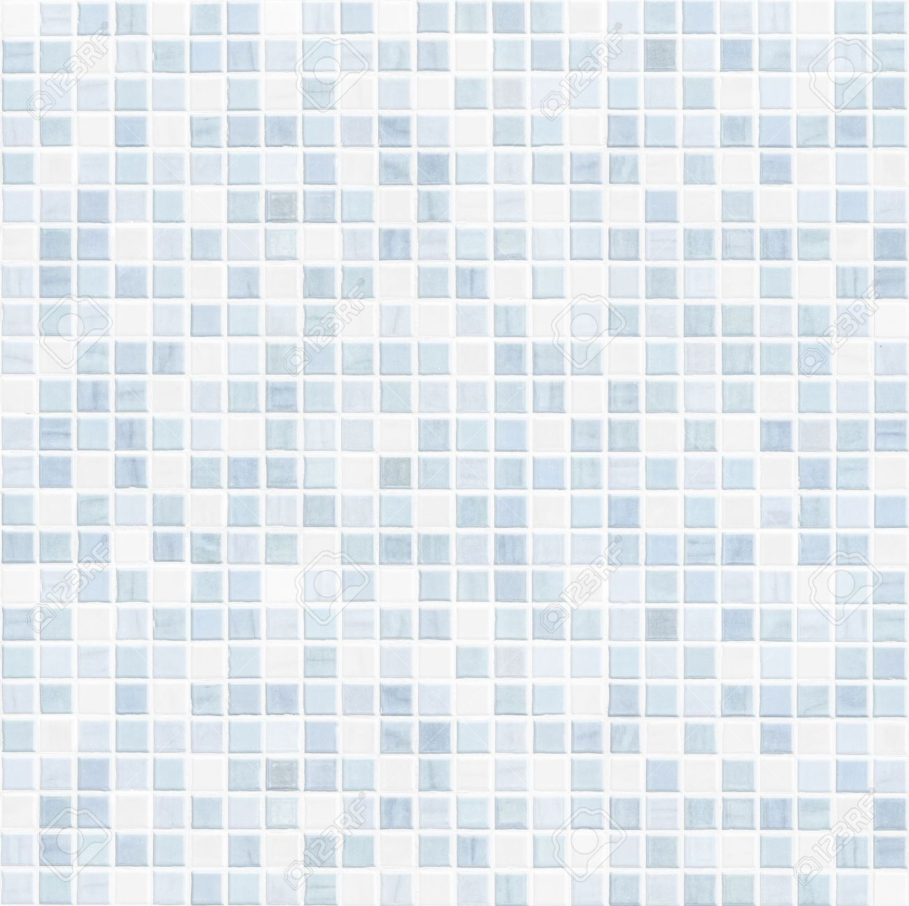 High Quality Blue Tile Wall High Resolution Ceramic Tile Bathroom Wall Stock Photo    48049991