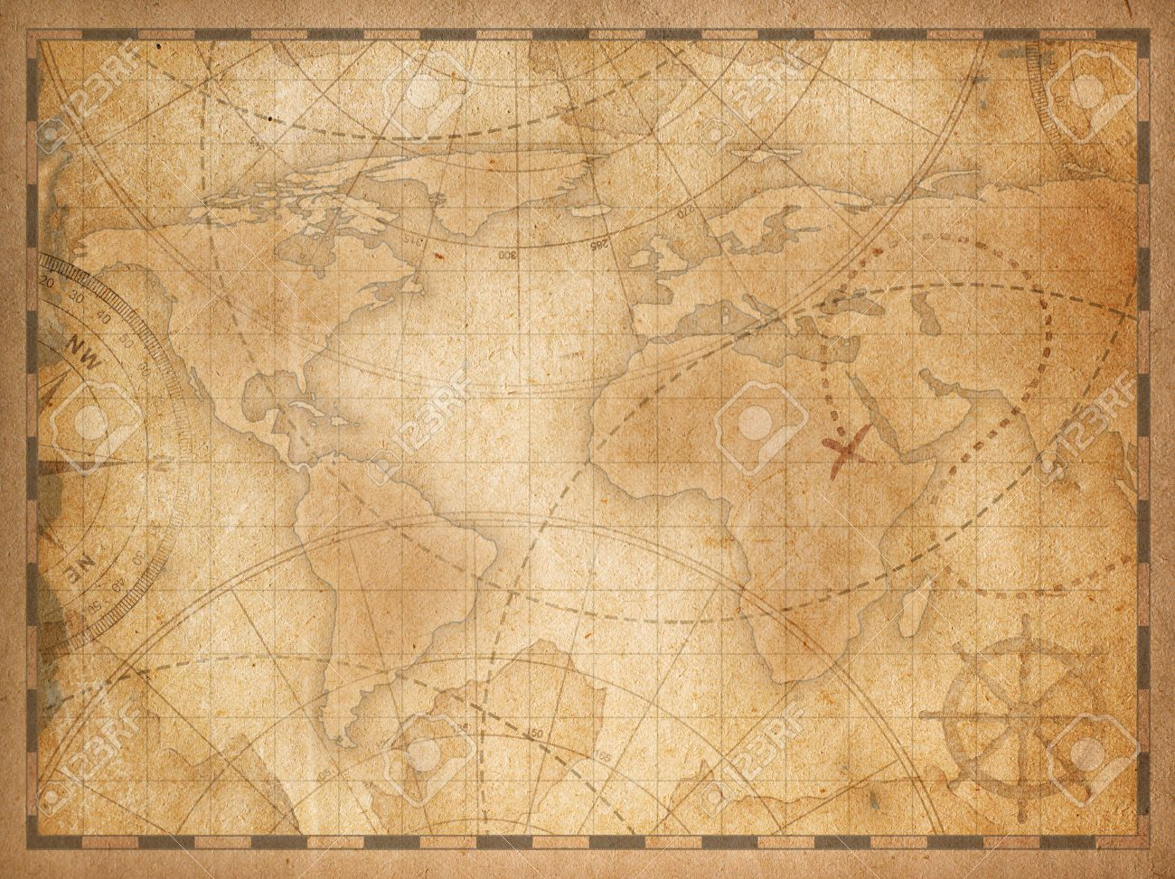 Old world map background stock photo picture and royalty free image old world map background stock photo 70098366 gumiabroncs Gallery
