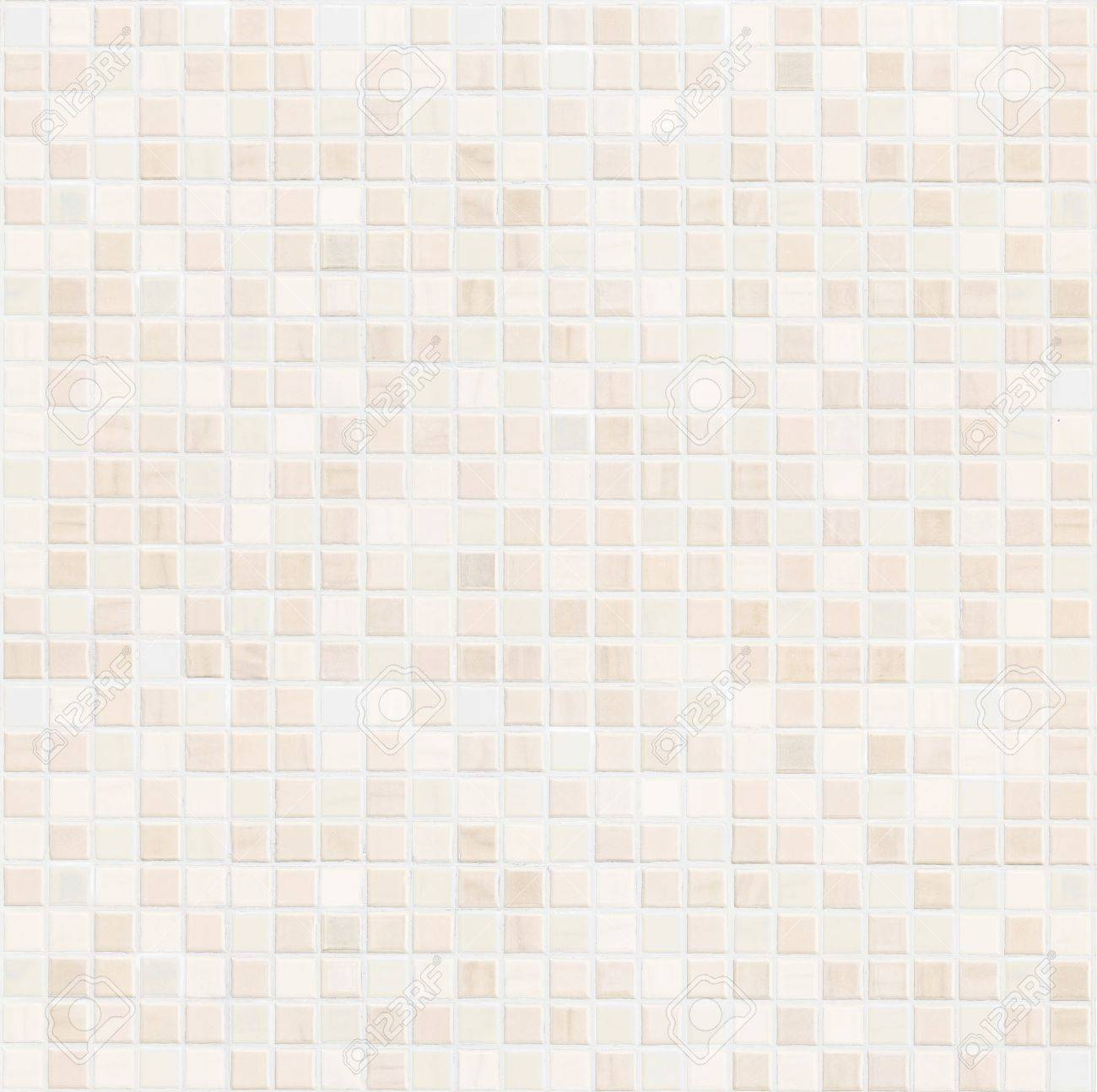 Beige Ceramic Bathroom Wall Tile Pattern For Background Stock Photo ...