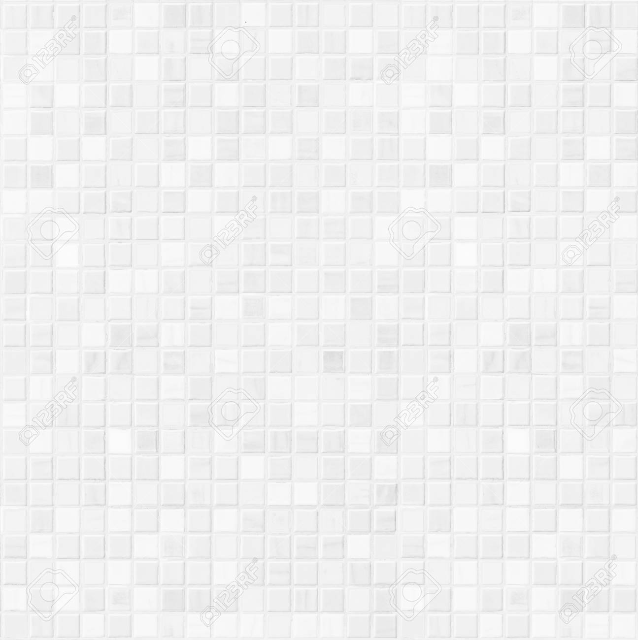 White ceramic bathroom wall tile pattern for background - 71650408