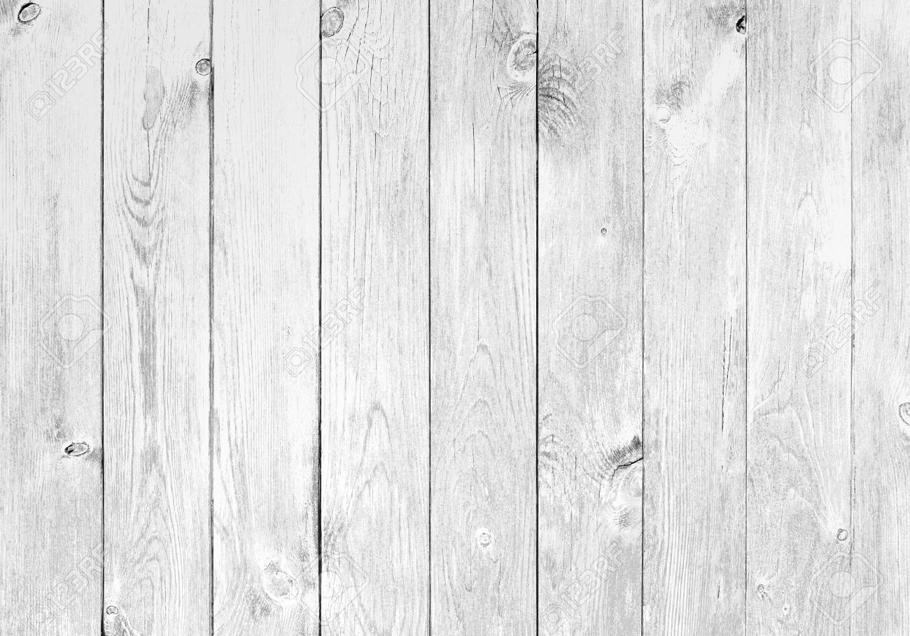 Genial Old White Wood Planks Background Stock Photo   74821628