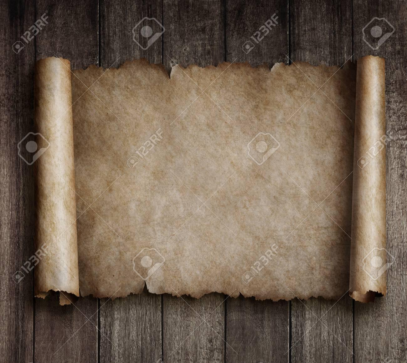 Vintage parchment or map - 75926709
