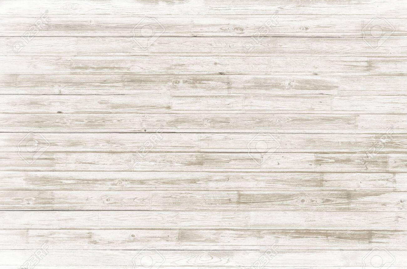 vintage white wood wall background - 142218076