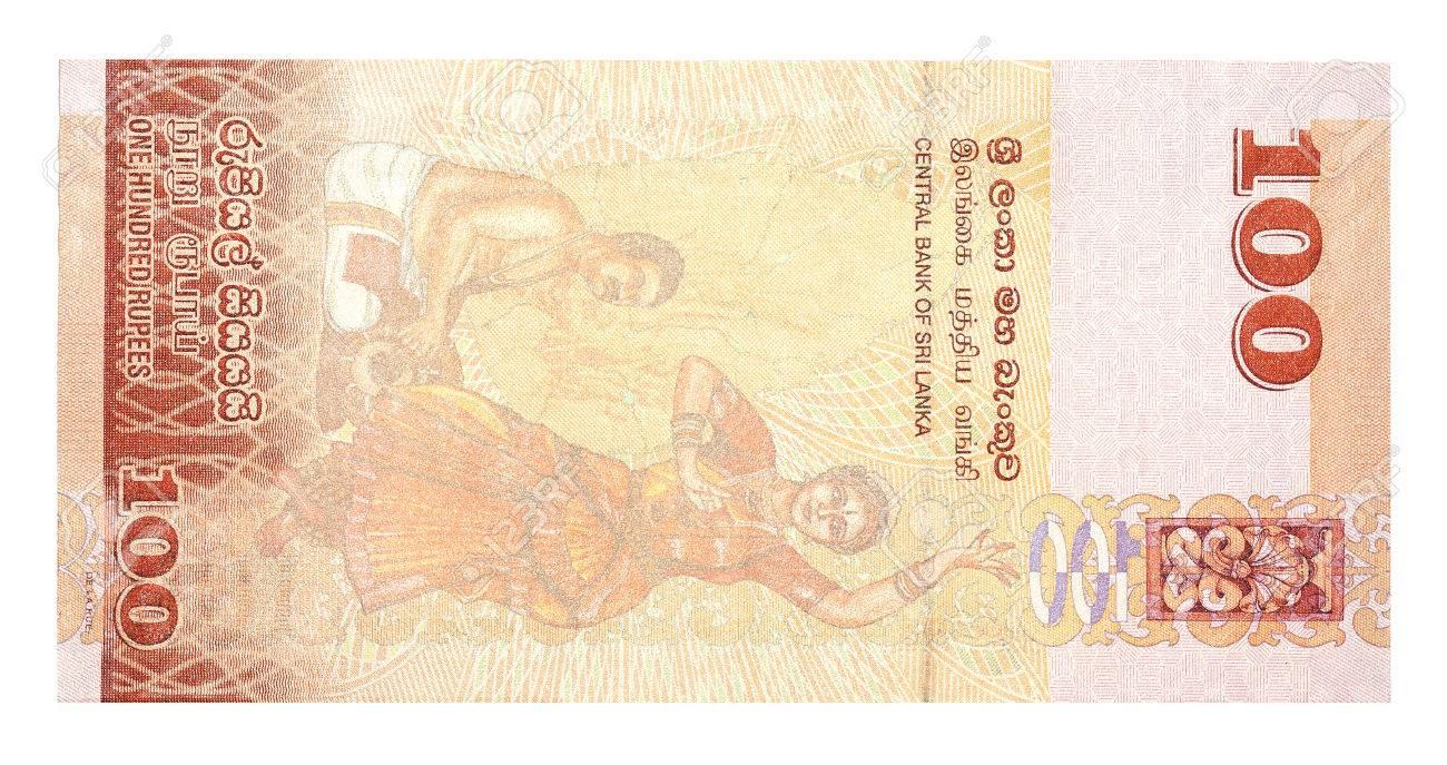 紙幣 100 スリランカ スリランカ ルピー の写真素材・画像素材 Image ...