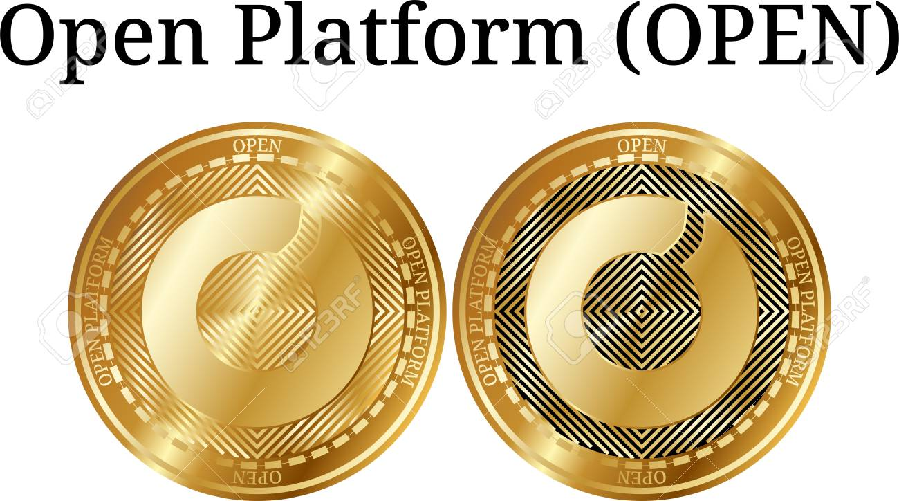 open cryptocurrency coin