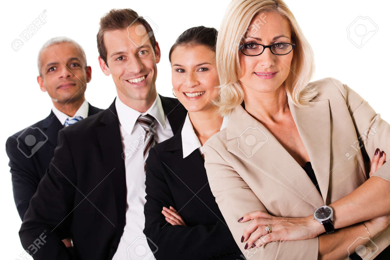 Strong Business Team Stock Photo - 8689454