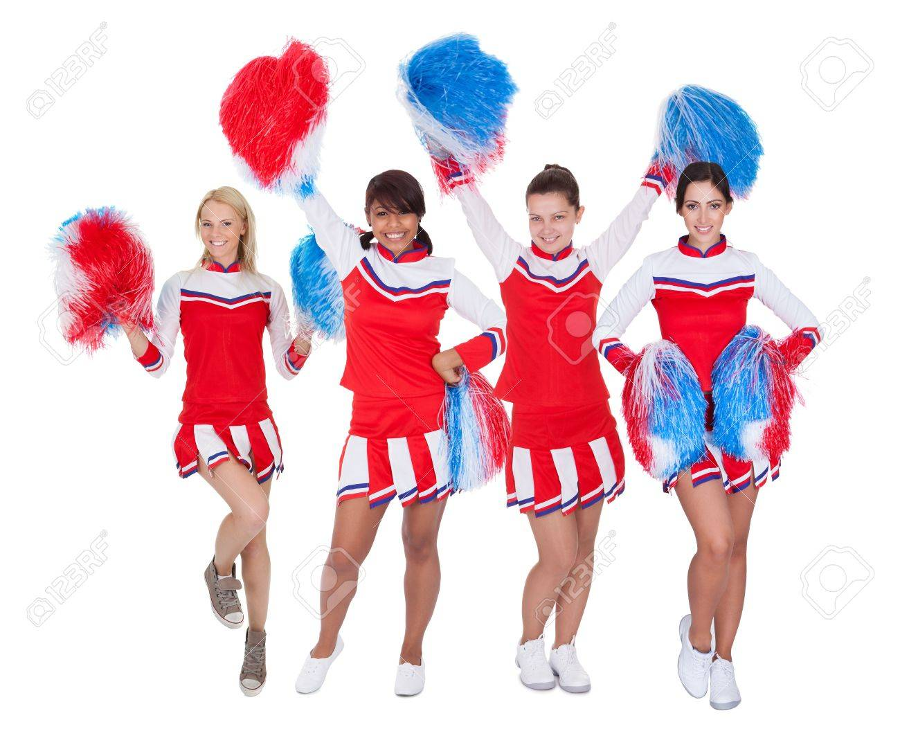 Cheerleaders of young pics