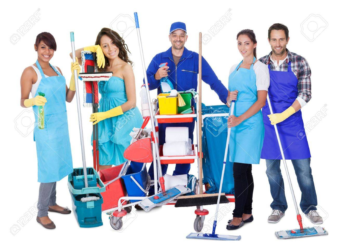 CLEANERS NEEDED – up to 14/hr, Paid Weekly