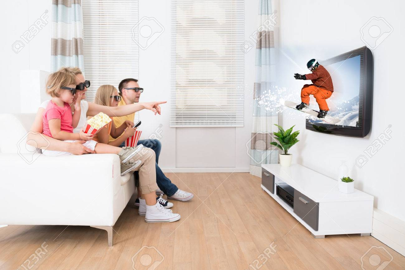 Living Room With Tv And People livingroom stock photos. royalty free livingroom images and pictures