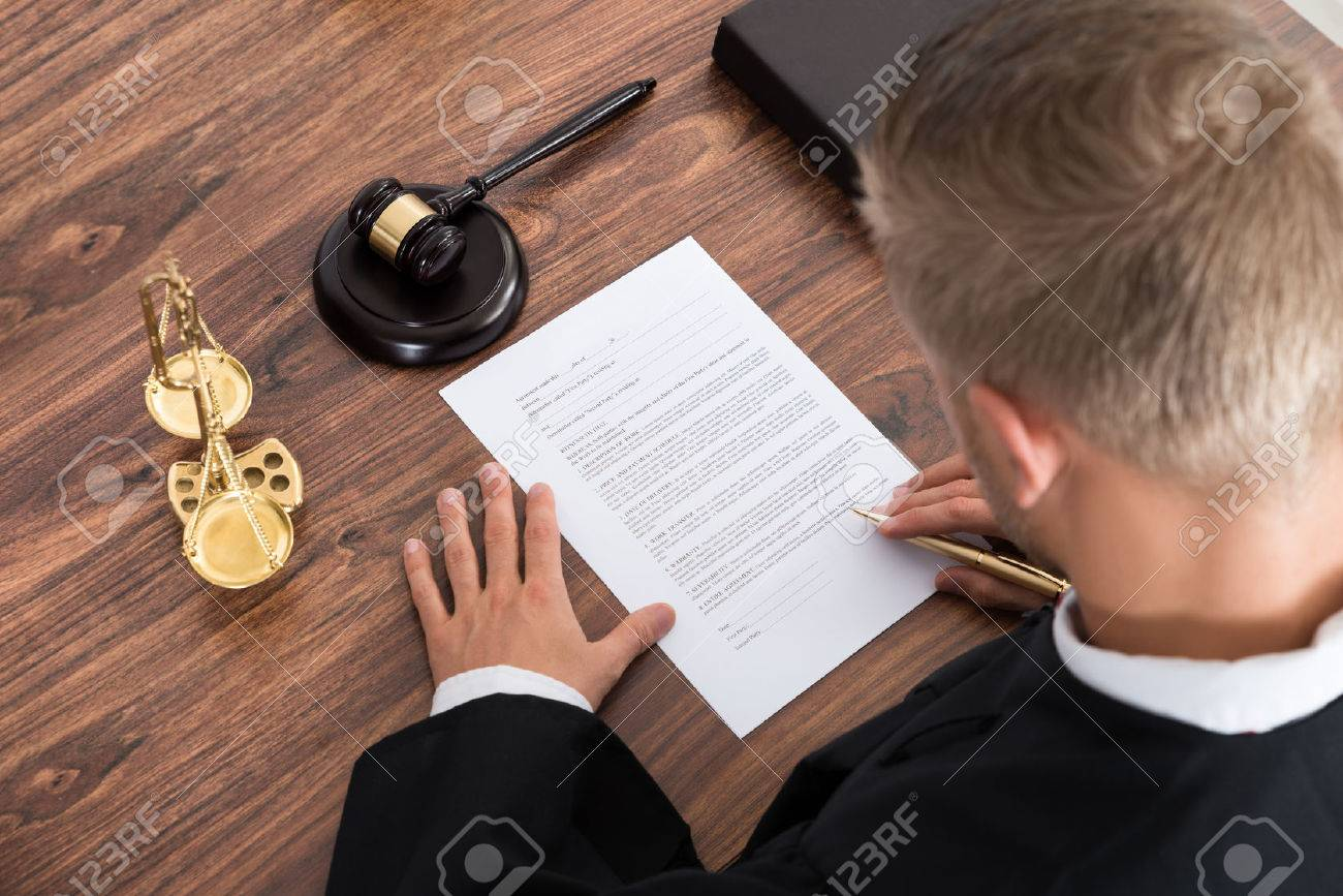 Writing a paper for court?
