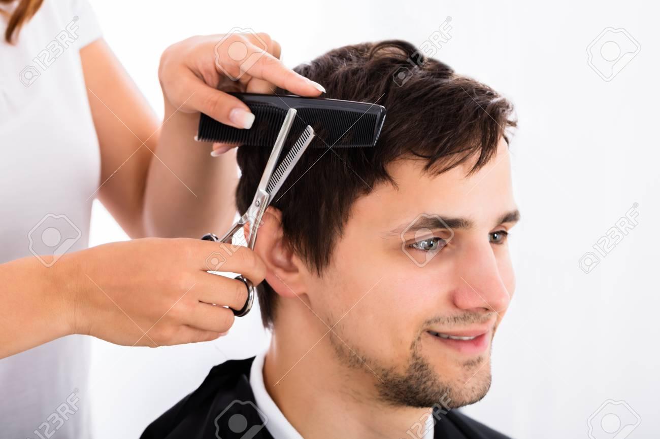 Getting A Haircut 16
