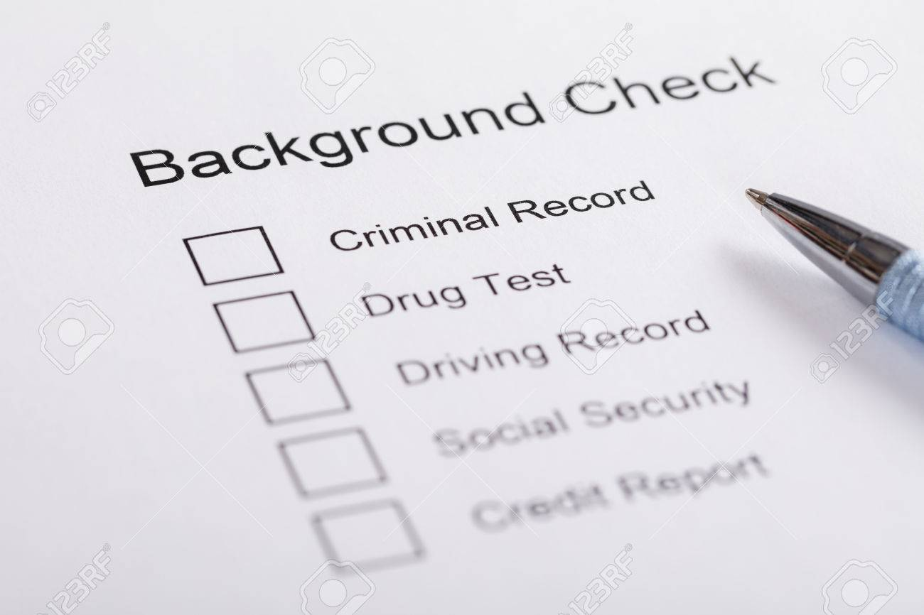 Close Up Of Pen Over Background Check Form Stock Photo   70824490