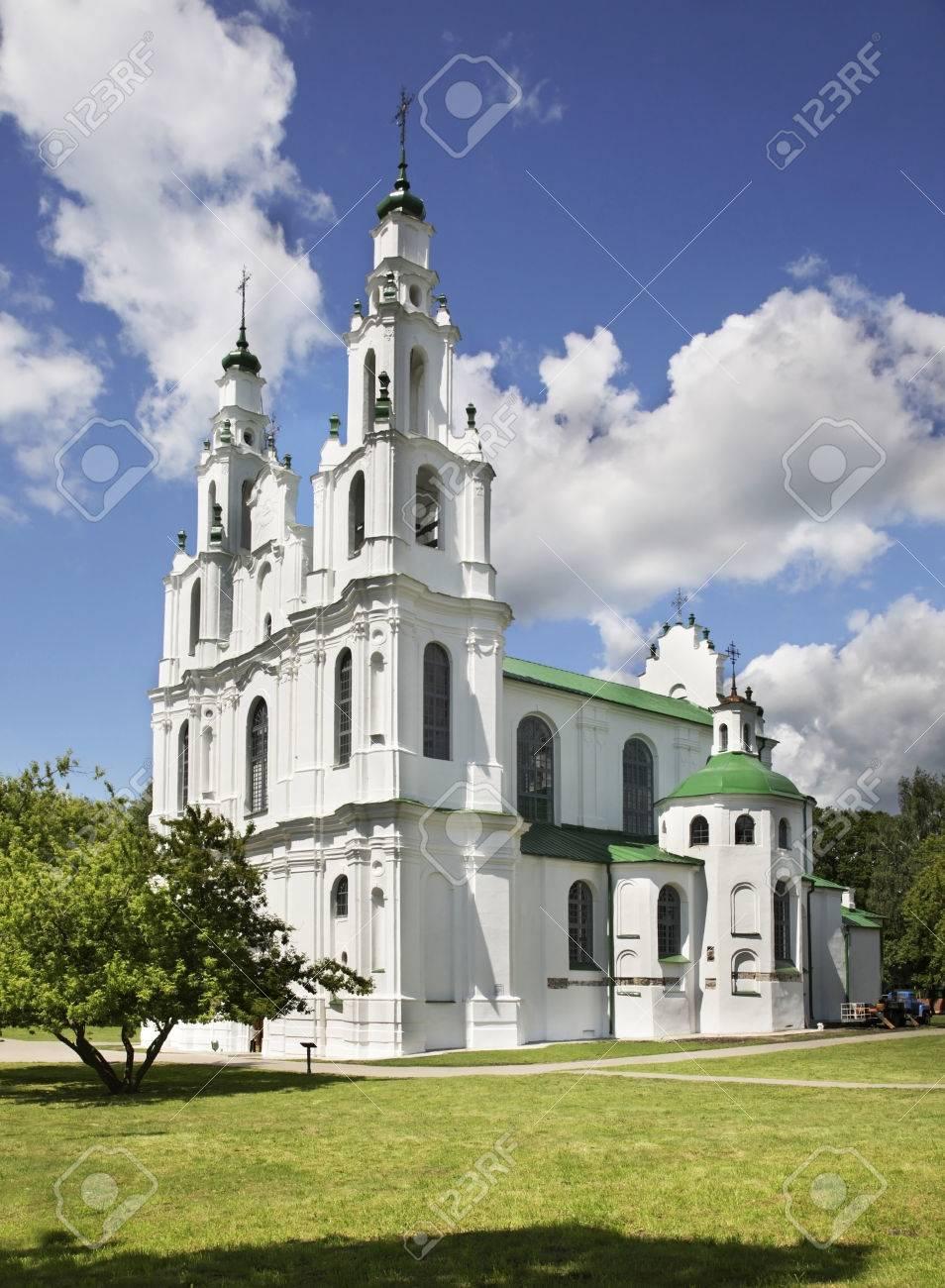 Resultado de imagen de iglesias-torre en Polotsk