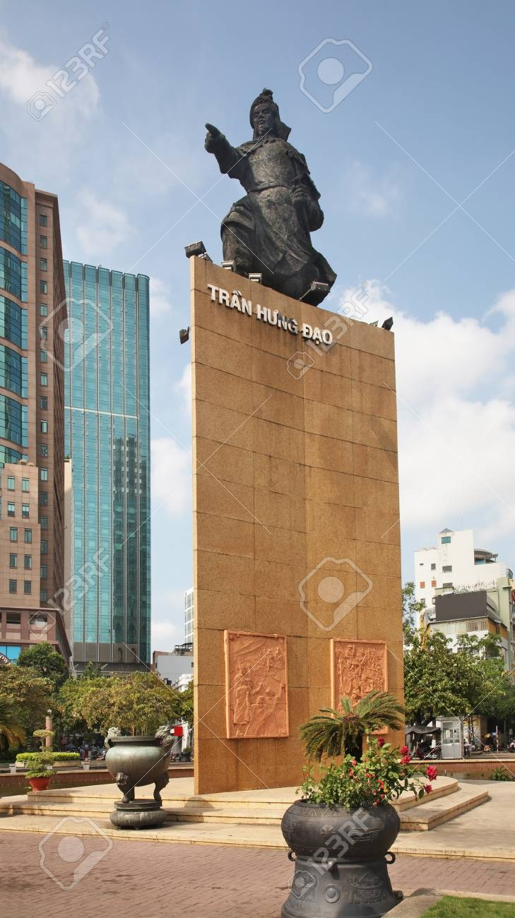 Tran Hung Dao Statue On Me Linh Square In Ho Chi Minh Vietnam Stock Photo Picture And Royalty Free Image Image 83467351