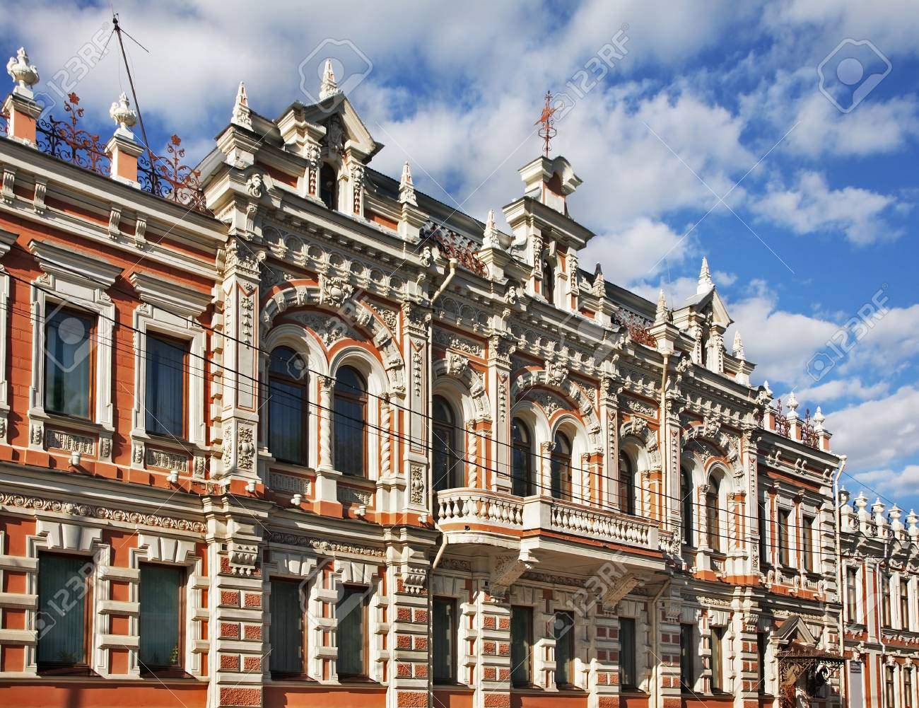 Old Building At Red Street In Krasnodar Russia Stock Photo Picture And Royalty Free Image Image 95020423