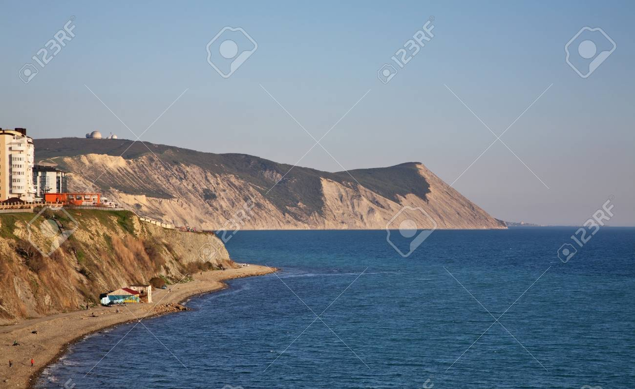 Cape Of Holy Cross Cape Of Nameless People In Anapa Krasnodar Stock Photo Picture And Royalty Free Image Image 95840502